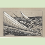 Yachting Engraving