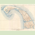 U. S. Geological Survey Provincetown Map