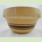 Yelloware Striped Mixing Bowl