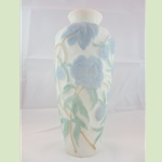 Consolidated Glass Peony Vase