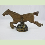 Cast Iron  Racing Horse Game Carnival Shooting Gallery Target